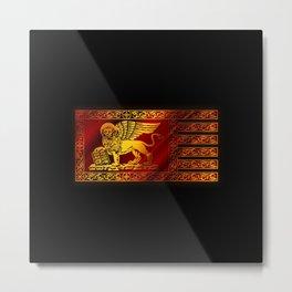 VENETIAN FLAG Metal Print