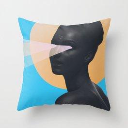 light vision Throw Pillow