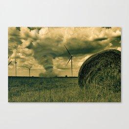 Tornado Art Oklahoma Canvas Print