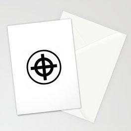 Sun Cross Wheel Cross Martial Heathen symbols Stationery Cards