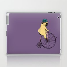 Pug Ride Laptop & iPad Skin