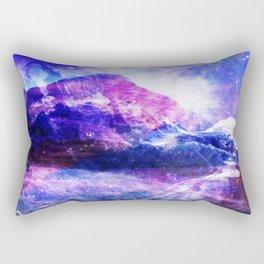 Abstract Mountain Landscape Rectangular Pillow