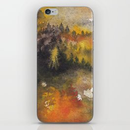Forest fire iPhone Skin