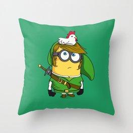 The Legend of MinLink Throw Pillow