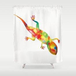 Mr. Lizard 1 Shower Curtain