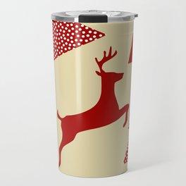 Reindeer cream Travel Mug