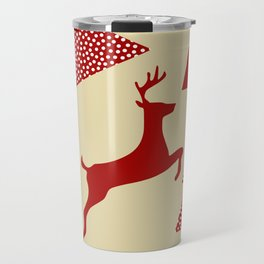 Reindeer cream Travel Mug