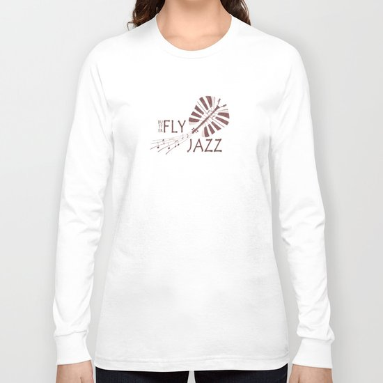 Butterfly Jazz Long Sleeve T-shirt