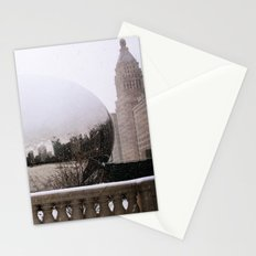 Snowy Bean Stationery Cards