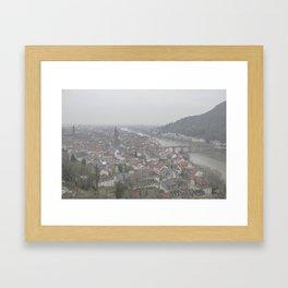 Heidelberg Mist Framed Art Print
