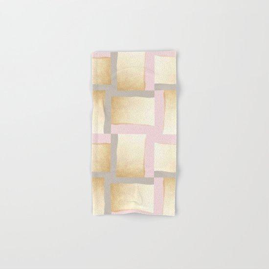 Pastels + Gold #society6 #decor #buyart Hand & Bath Towel