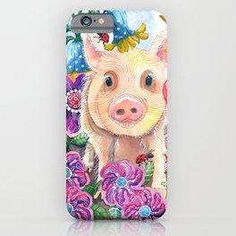 Penelope Pig iPhone Case
