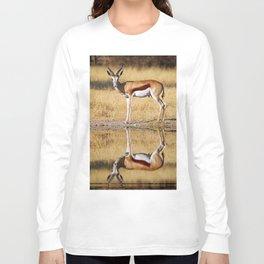 The double Springbok, Africa wildlife Long Sleeve T-shirt