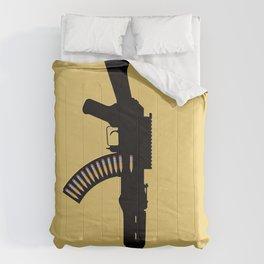 Art Not War - Yellow Comforters