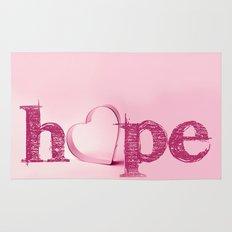 Hope's Heart - Pink Rug