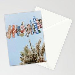 summer wanderlust Stationery Cards