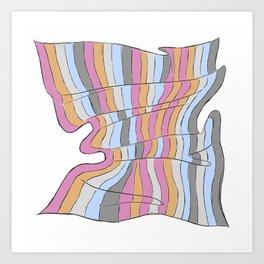 Fantasy Quilt 2 Art Print