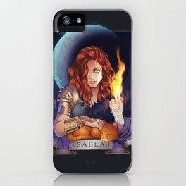 Intro to Isabeau iPhone Case