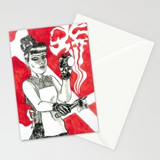 Deadly Barista Stationery Cards