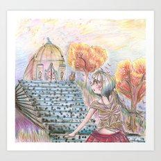 Fantasy of Colors Art Print