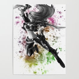 League of Legends Katarina Poster