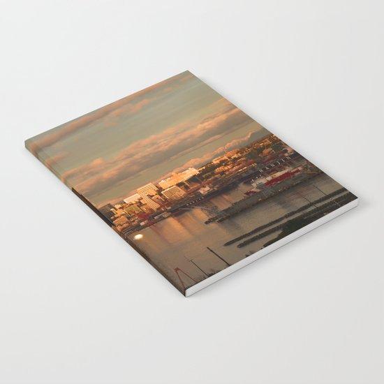 Seattle Cityscape Notebook