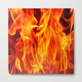 Fire in fire  (A7 B0145) Metal Print