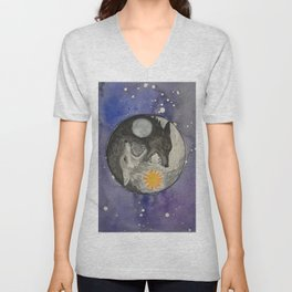 Skoll and Hati Unisex V-Neck