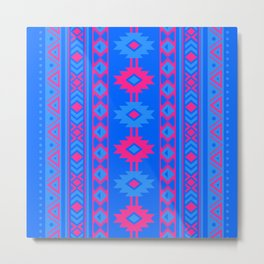 Indian Designs 234 Metal Print