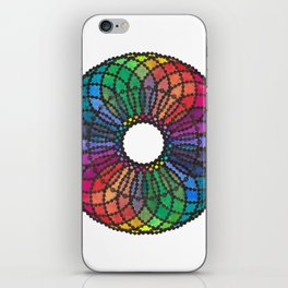 """Jolisha"" Watercolor Mandala iPhone Skin"