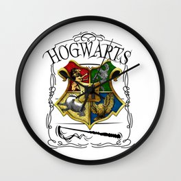 Hogwarts Alumni school Harry Wall Clock
