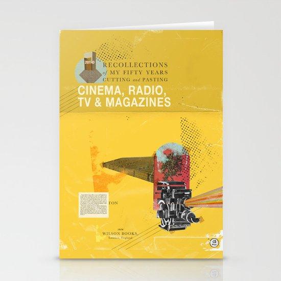 Cinema, Radio, TV and Magazines Stationery Cards