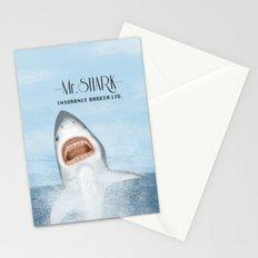 Mr. Shark Insurance Broker Ltd. Stationery Cards