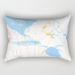 Gods of the Planets Rectangular Pillow