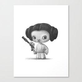 Lil Leia Canvas Print