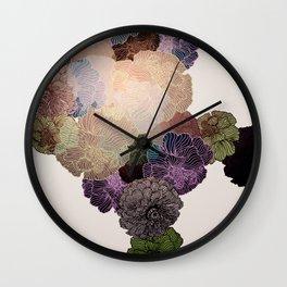 Florals // Pattern III Wall Clock