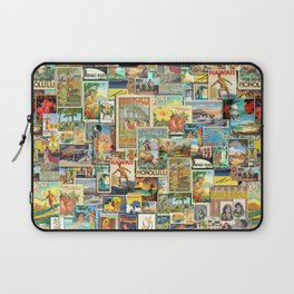 Vintage Hawaii Laptop Sleeve
