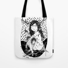 tree lady Tote Bag