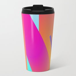 N - Abstract Typography Series Travel Mug