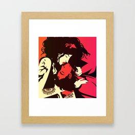 tantra sensual couple Framed Art Print