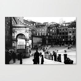 """Siena - """"Piazza del Campo"""" Canvas Print"""