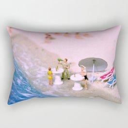 Beach Party Dolls Rectangular Pillow