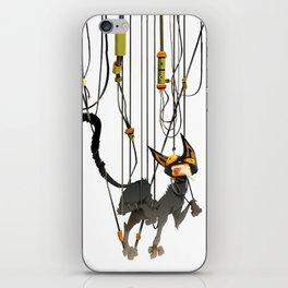 """Lili B. """"Entangled cat"""" iPhone Skin"""