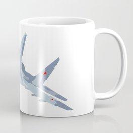 Russian Jet Fighter MiG-29 Coffee Mug