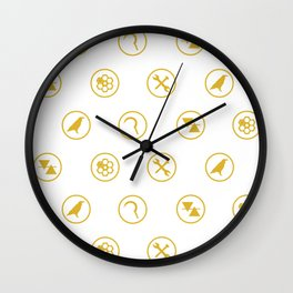 Guild Symbols Wall Clock