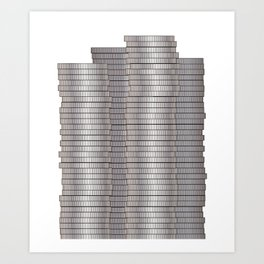 Pieces of Silver Art Print