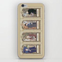 Sherlock Victorian Language of Flowers Four Seasons iPhone Skin