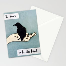 I Had A Little Bird Stationery Cards