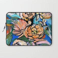 Vibrant Floral Laptop Sleeve