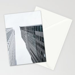 Urban buildings in Toronto Canada Stationery Cards